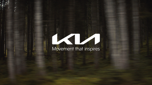 Kia's new brand logo and slogan (Kia Corp.)