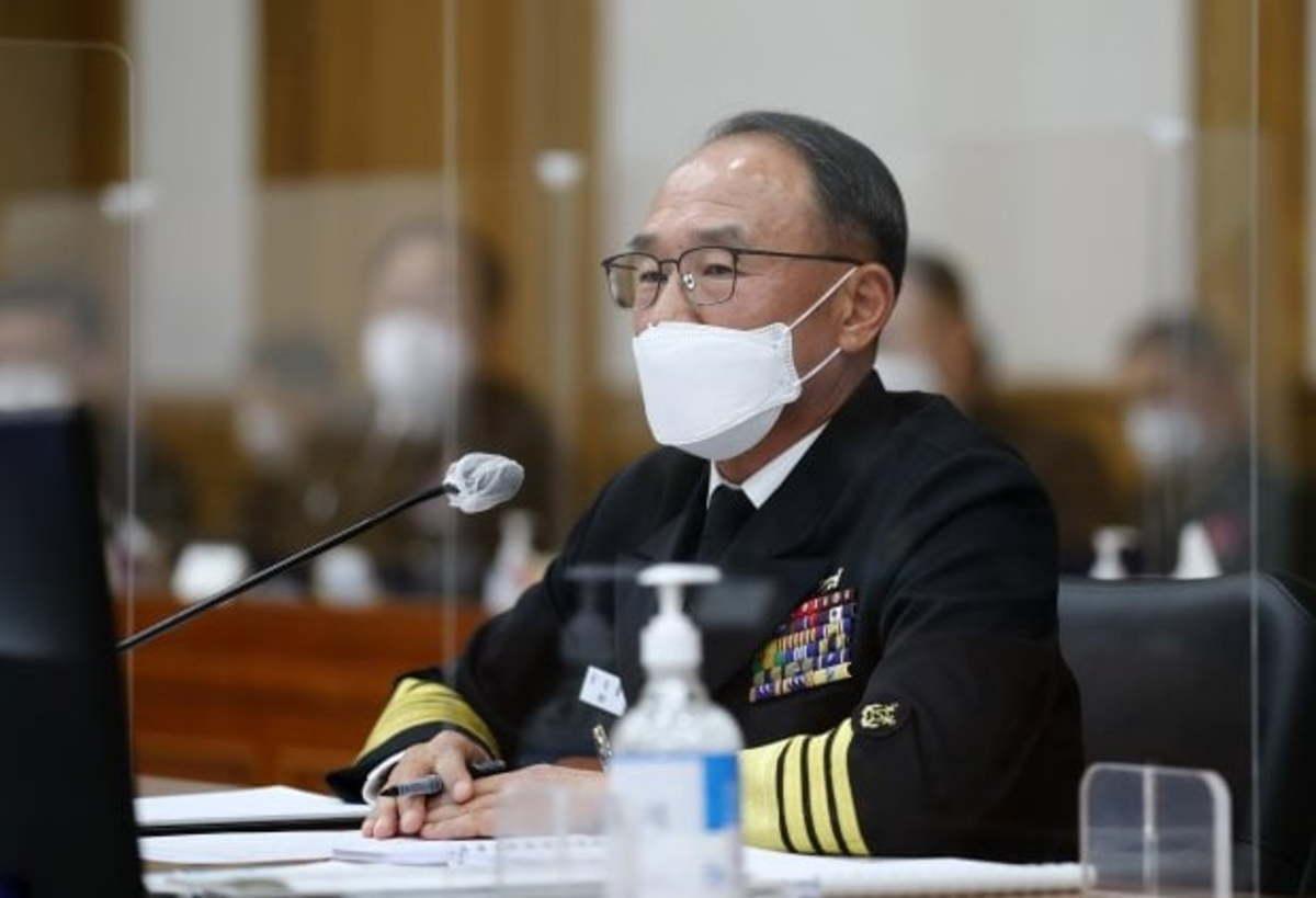 Navy Chief of Staff Boo Suk-jong (Yonhap)