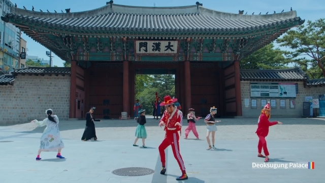 "Screenshot from the KTO's promotional video series ""Feel the Rhythm of Korea"" (Korea Tourism Organization)"