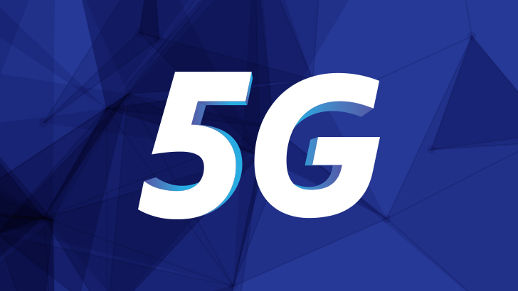 This image provided by Samsung Electronics Co. on Feb. 25, 2020, shows its 5G logo. (Samsung Electronics Co.)