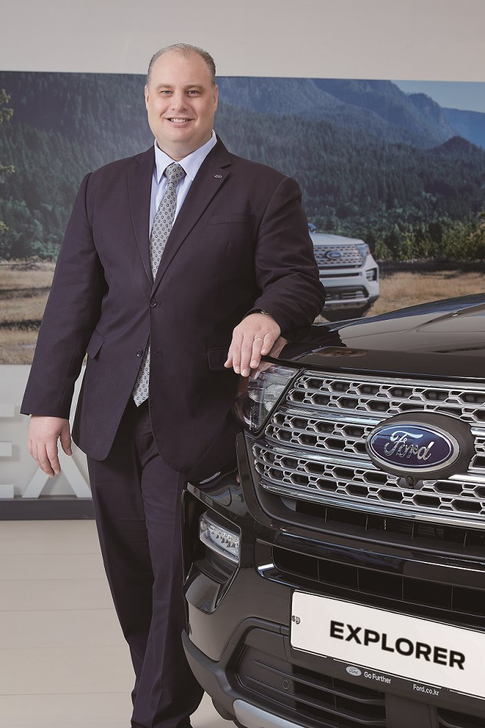 Ford Service and Sales Korea Managing Director David Jeffrey (Ford Service and Sales Korea)