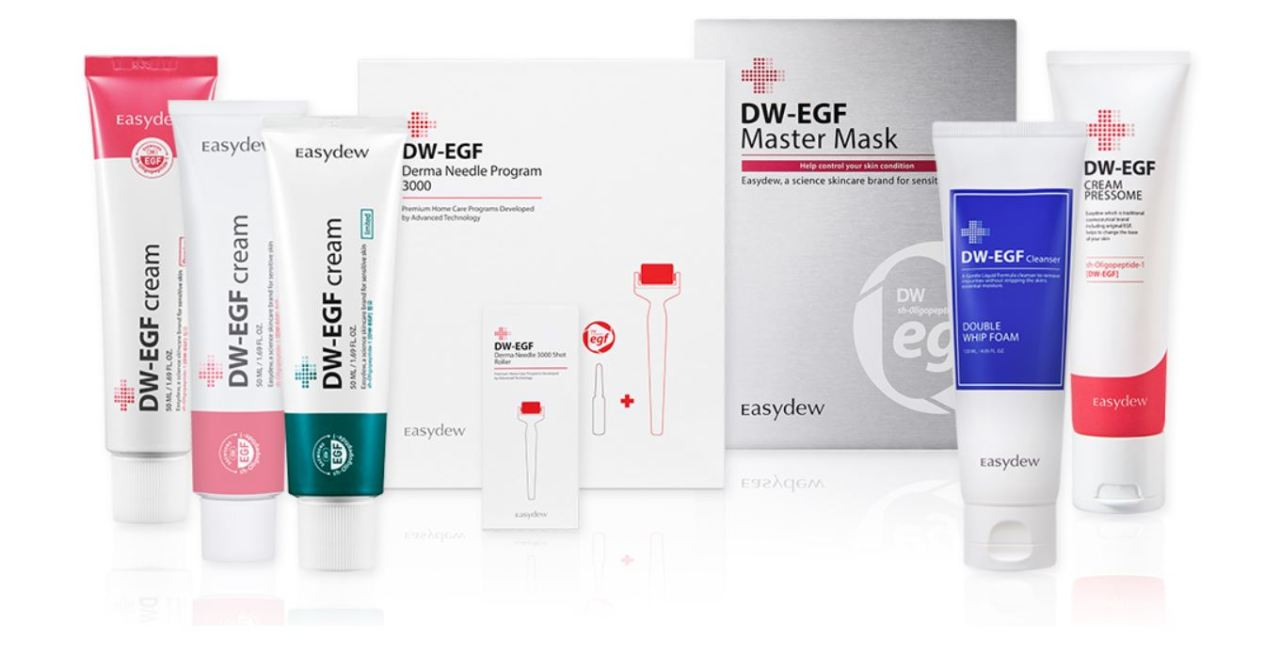 Daewoong Group affiliate DN company's DW-EGF cream
