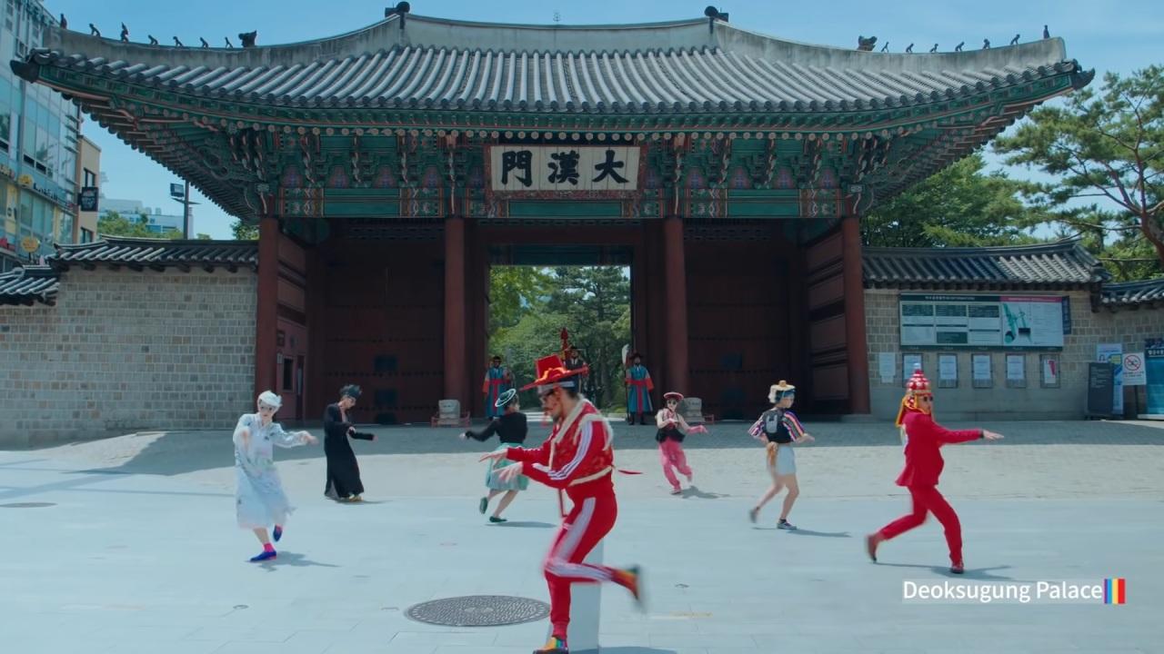 "Scene from ""Feel the Rhythm of Korea"" (KTO)"