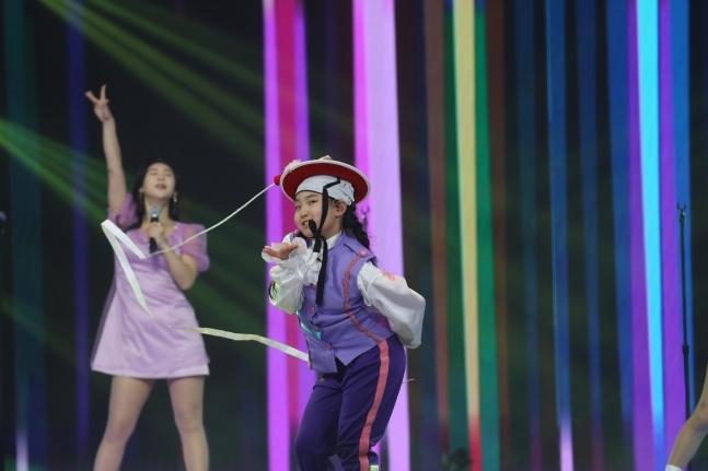 """Kim Tae-yeon in """"Miss Trot 2"""" (TV Chosun)"""