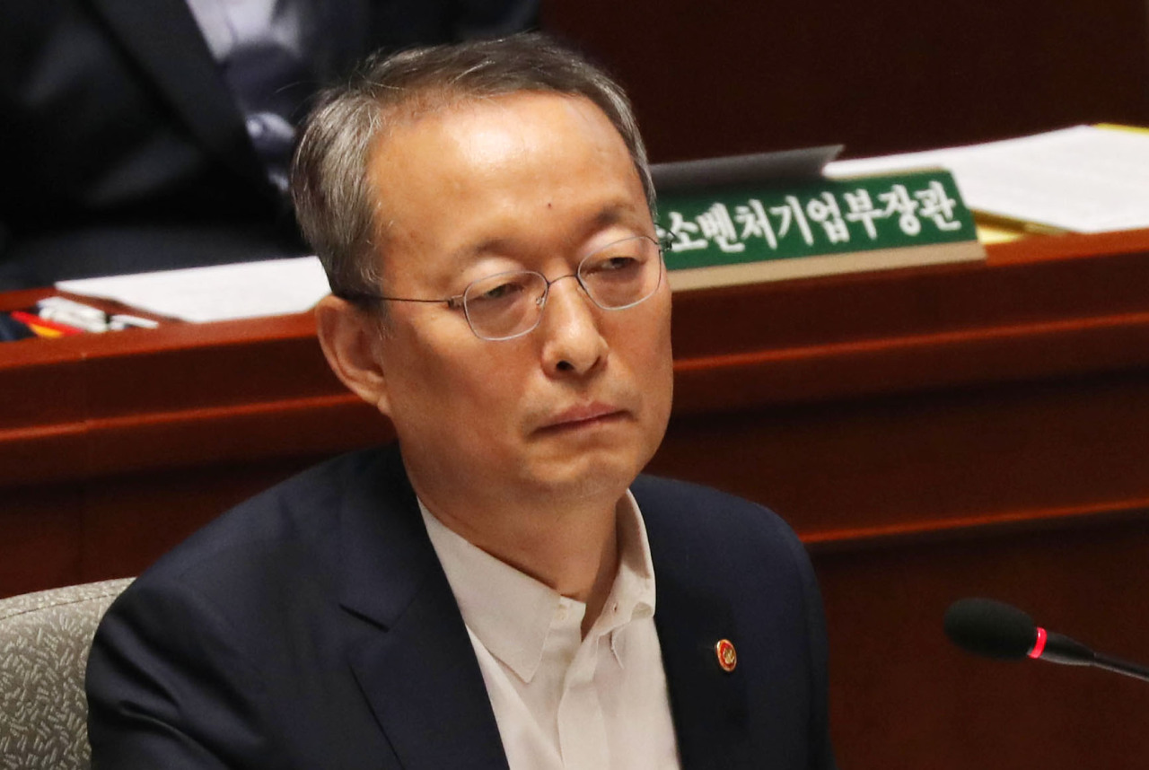 Former Minister of Trade, Industry and Energy Paik Un-gyu (Yonhap)