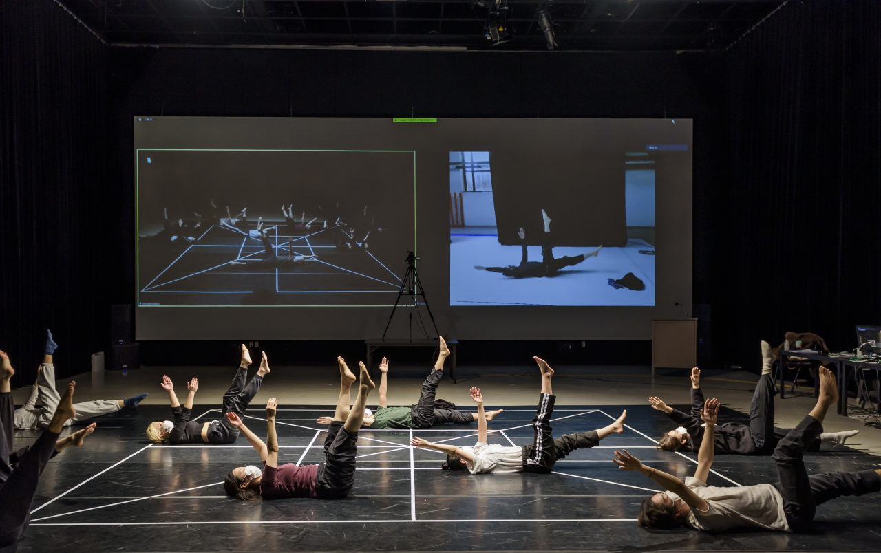 The Seoul Institute of the Arts offers a global art and technology game created by Italian choreographer Nicola Galli. (Seoul Institute of the Arts)
