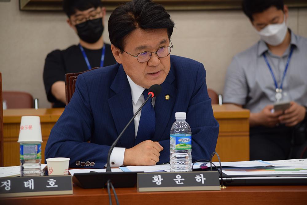 Rep. Hwang Woon-ha of the Democratic Party of Korea (Rep. Hwang Woon-ha's office)