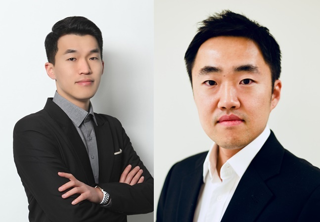 GenEdit CEO Lee Gun-woo (left) and CTO Park Hyo-min (Courtesy of Lee and Park)