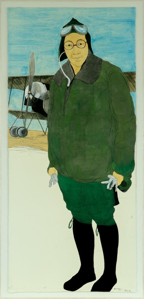 Pilot Kwon Ki-ok (Hakgojae Gallery)