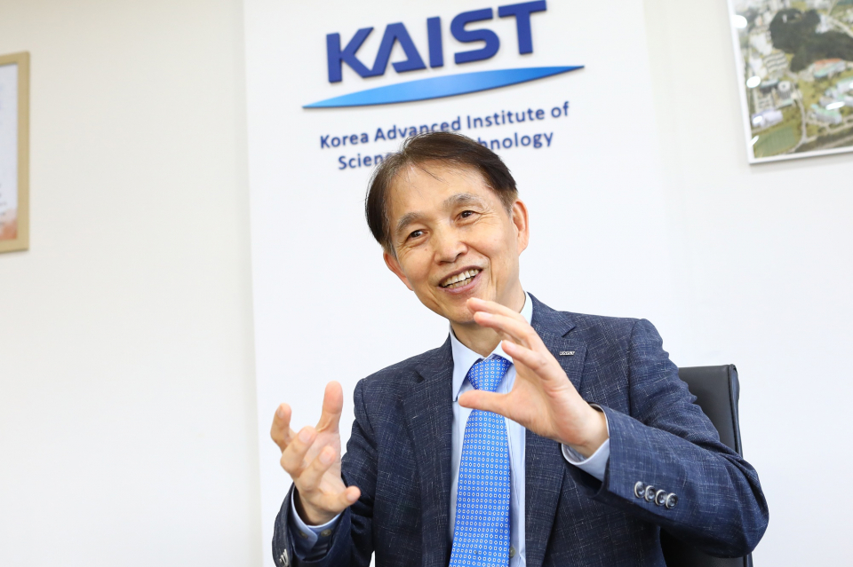 Korea Advanced Institute of Science and Technology's new president Lee Kwang-hyung (KAIST)