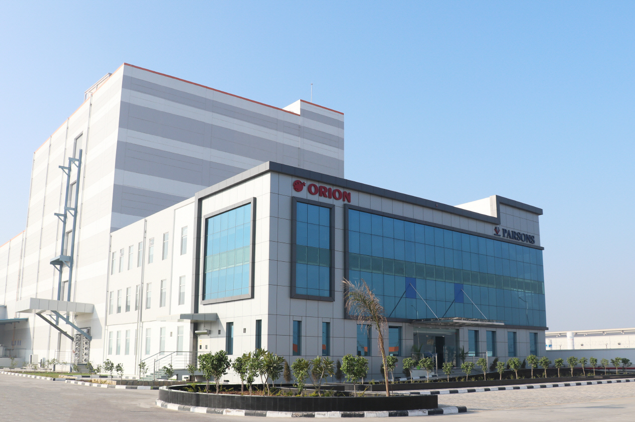 Orion's new factory in the state of Rajasthan, India. (Orion)