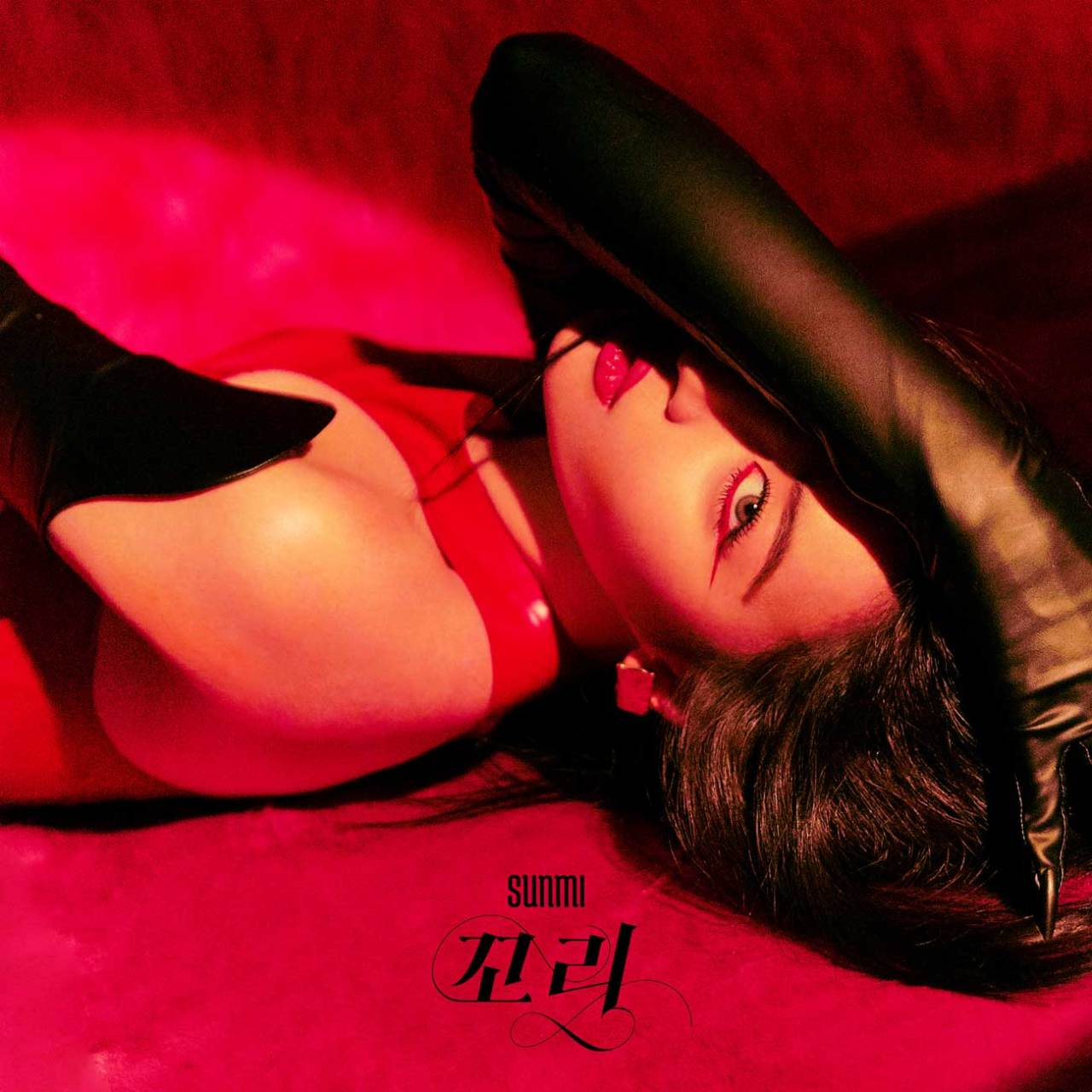 "Sunmi new single ""Tail"" poster (Abyss Company)"