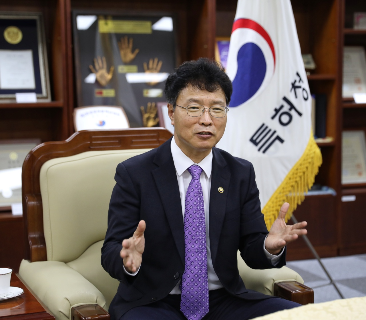 Kim Yong-rae, commissioner of the Korean Intellectual Property Office