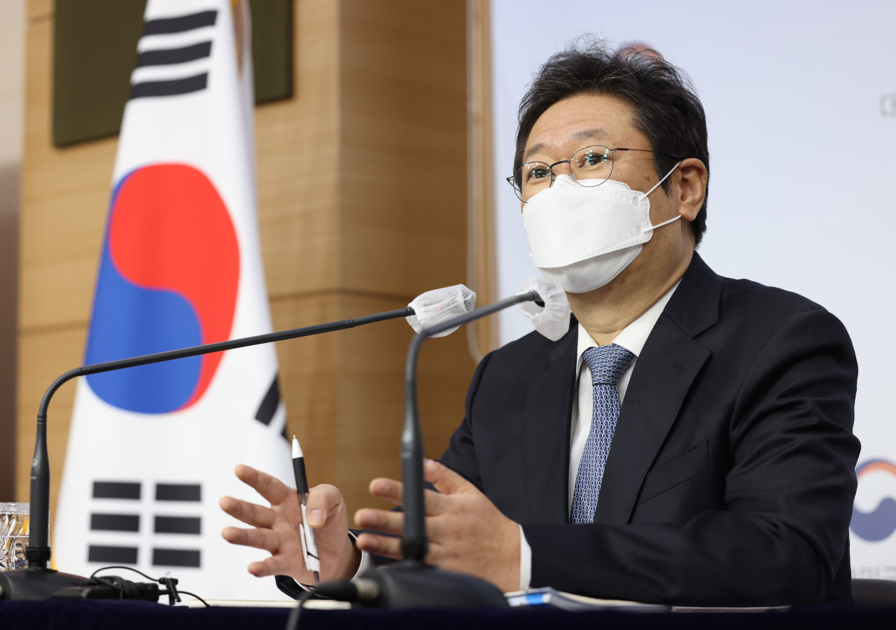 New Culture Minister Hwang Hee (Culture Ministry)