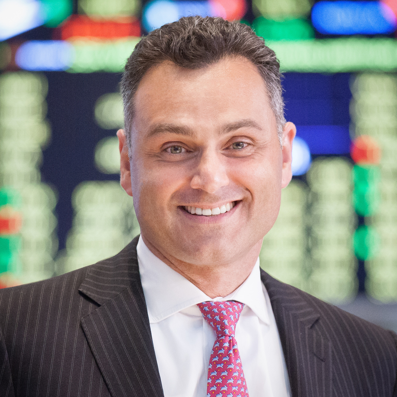 Alexandre L. Ibrahim, head of international capital markets at the New York Stock Exchange (NYSE Group)
