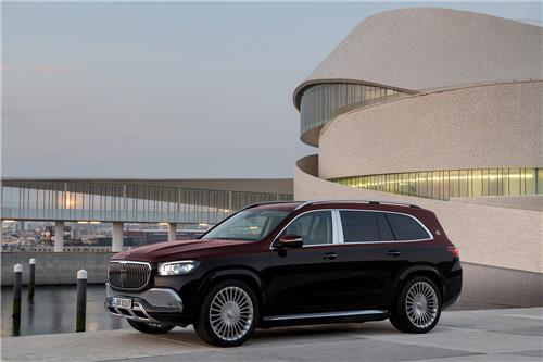 This file photo provided by Mercedes-Benz Korea shows the Mercedes-Maybach GLS 600 4MATIC SUV. (Mercedes-Benz Korea)