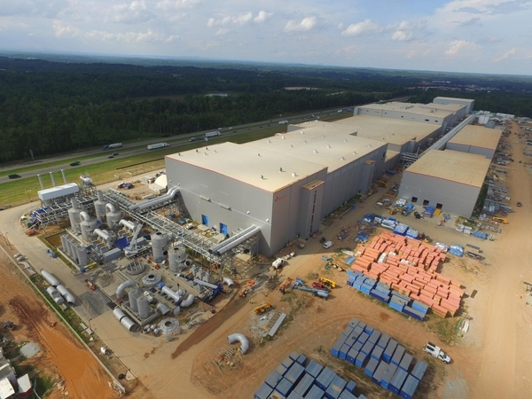 SK Innovation's battery plant currently under construction in Georgia (SK Innovation)