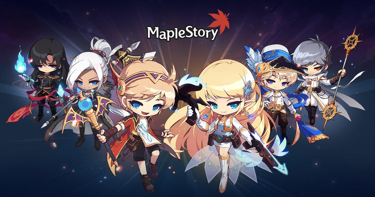 Nexon role-playing game MapleStory (Nexon)