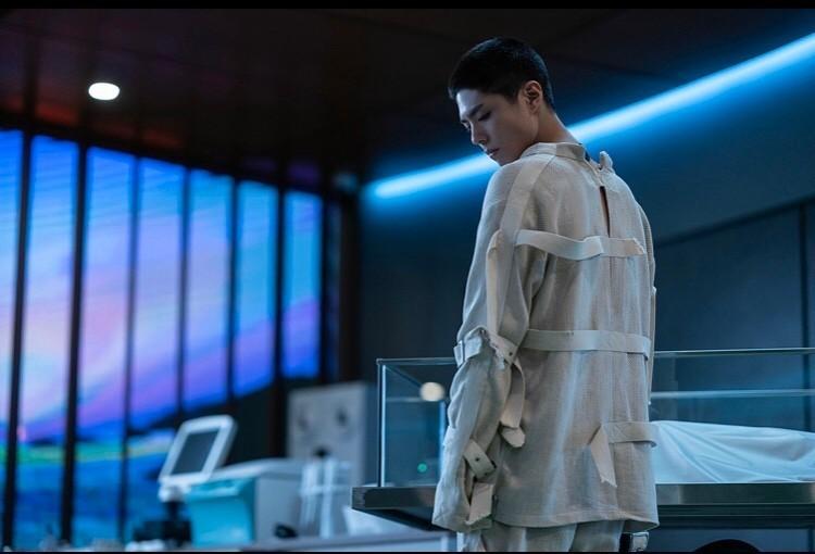 "A scene from the movie ""Seobok"" starring Park Bo-gum (CJ Entertainment)"