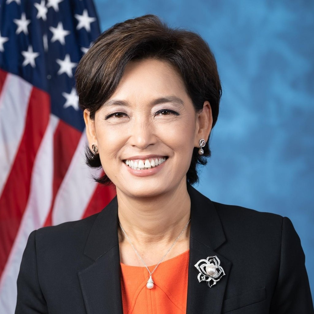 This is an image of Rep. Young Kim (R-CA) captured from her Facebook account. (Rep. Young Kim's Facebook)
