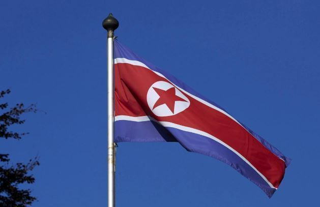 North Korean flag (Reuters-Yonhap)