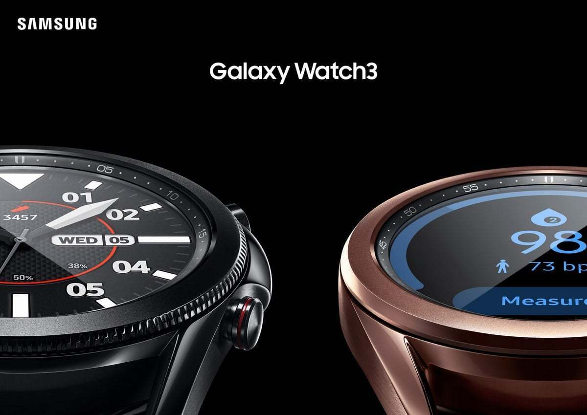 The company's Galaxy Watch3 smartwatch. (Samsung Electronics Co.)