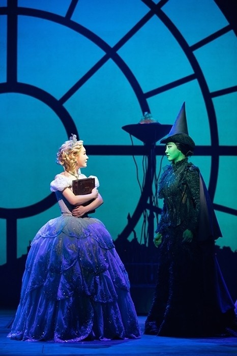 "A scene from musical ""Wicked"" (Clip Service)"