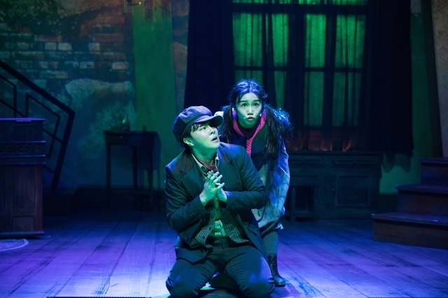 "A scene from musical ""Who Lives in Kuroi Mansion?"" (Arts Council Korea)"