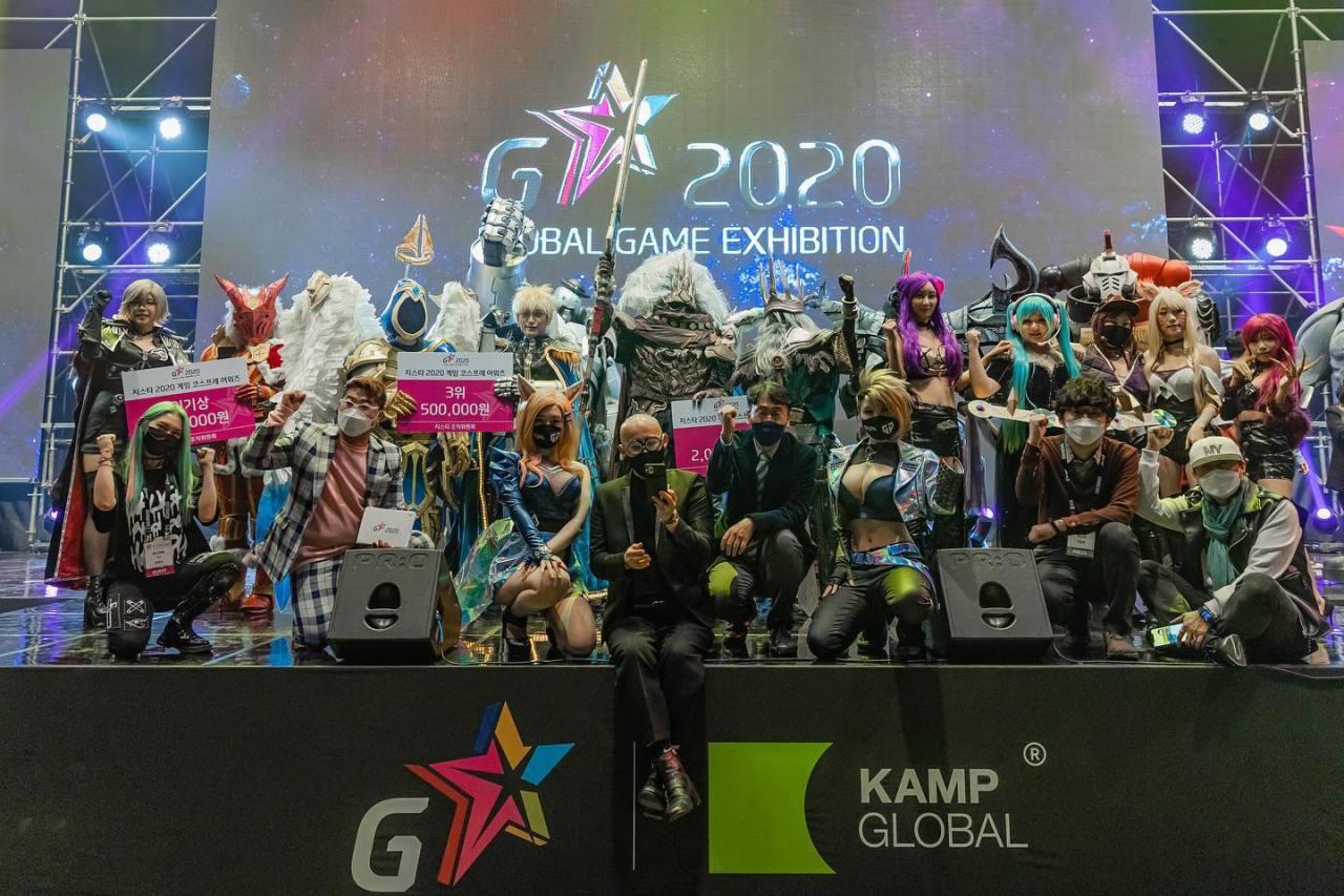 Cosplay Award winners at 2020 G-Star (GStar)