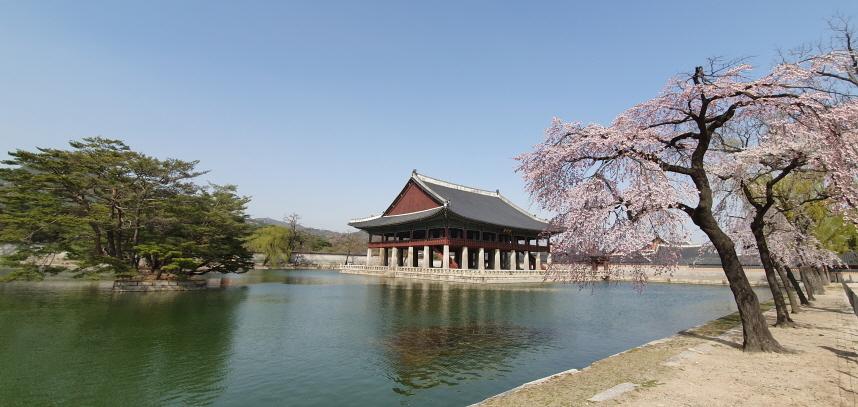 Gyeonghoeru at Gyeongbokgung in central Seoul (Cultural Heritage Administration)
