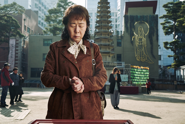 """Youn Yuh-jung stars as 65-year-old prostitute So-young in """"The Bacchus Lady."""" (CGV Arthouse)"""