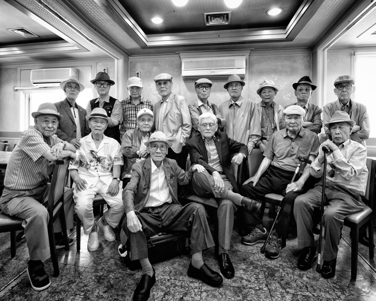 Korean War veterans in Seoul (Courtesy of Rami Hyun)