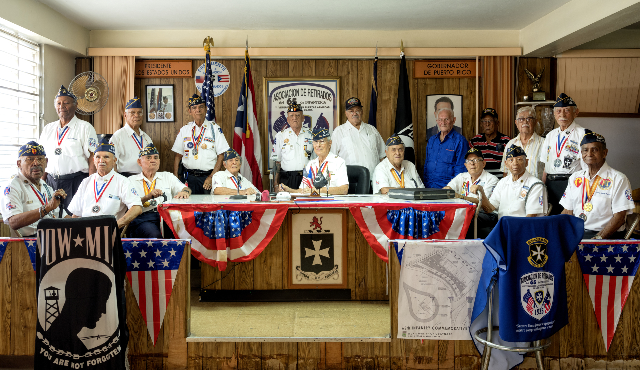 Korean War veterans in Puerto Rico, US (Courtesy of Rami Hyun)