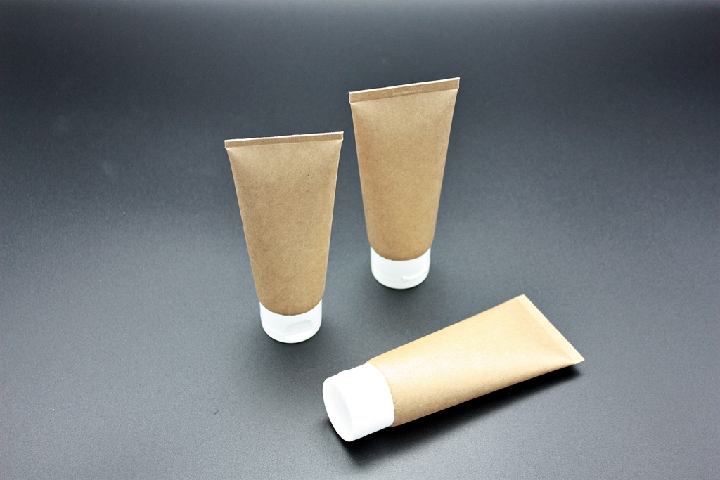 A sample of Amorepacific's paper tube packaging made with its patented technology.(Amorepacific)