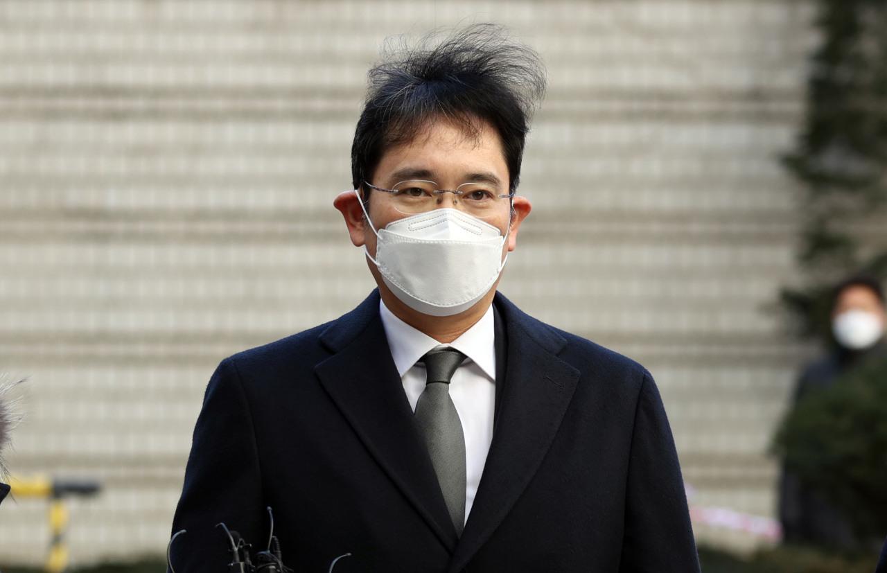Samsung Group's de-facto chief Lee Jae-yong (Yonhap)
