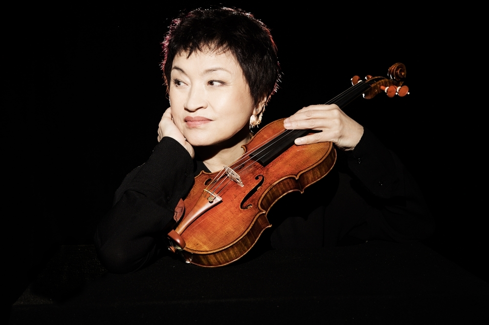 Violinist Chung Kyung-wha (Vincero)