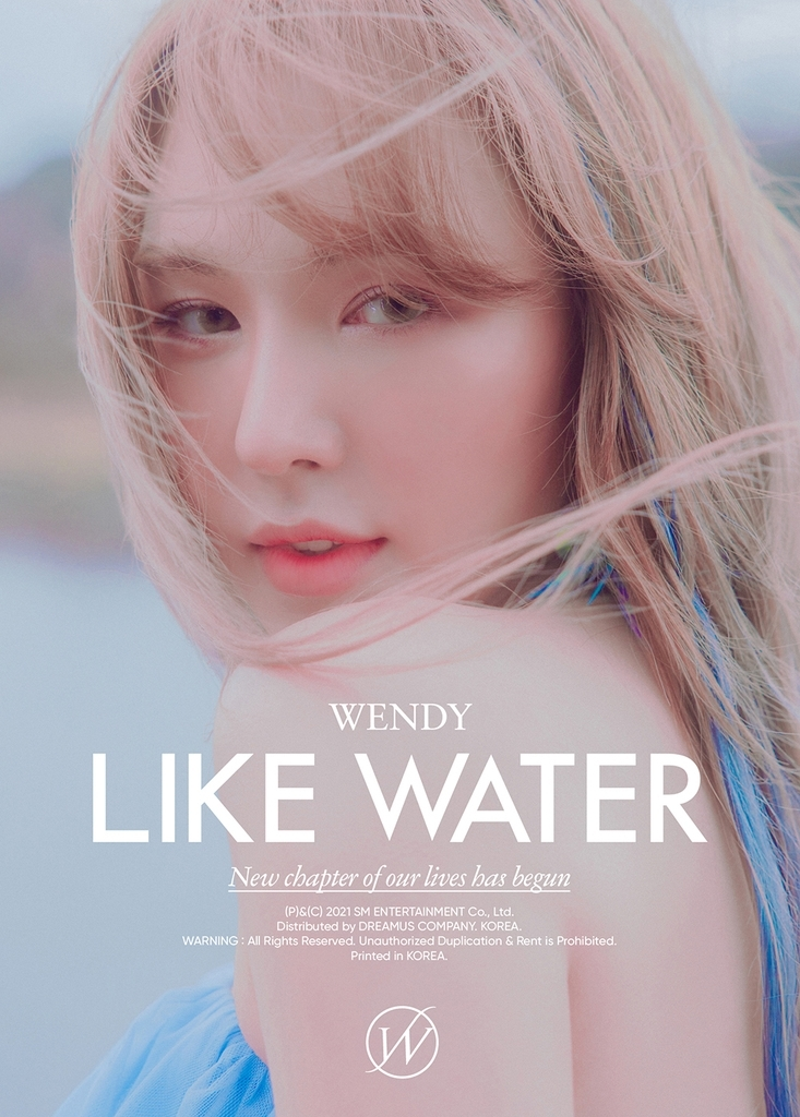 This photo, provided by SM Entertainment, shows Wendy of girl group Red Velvet. (SM Entertainment)