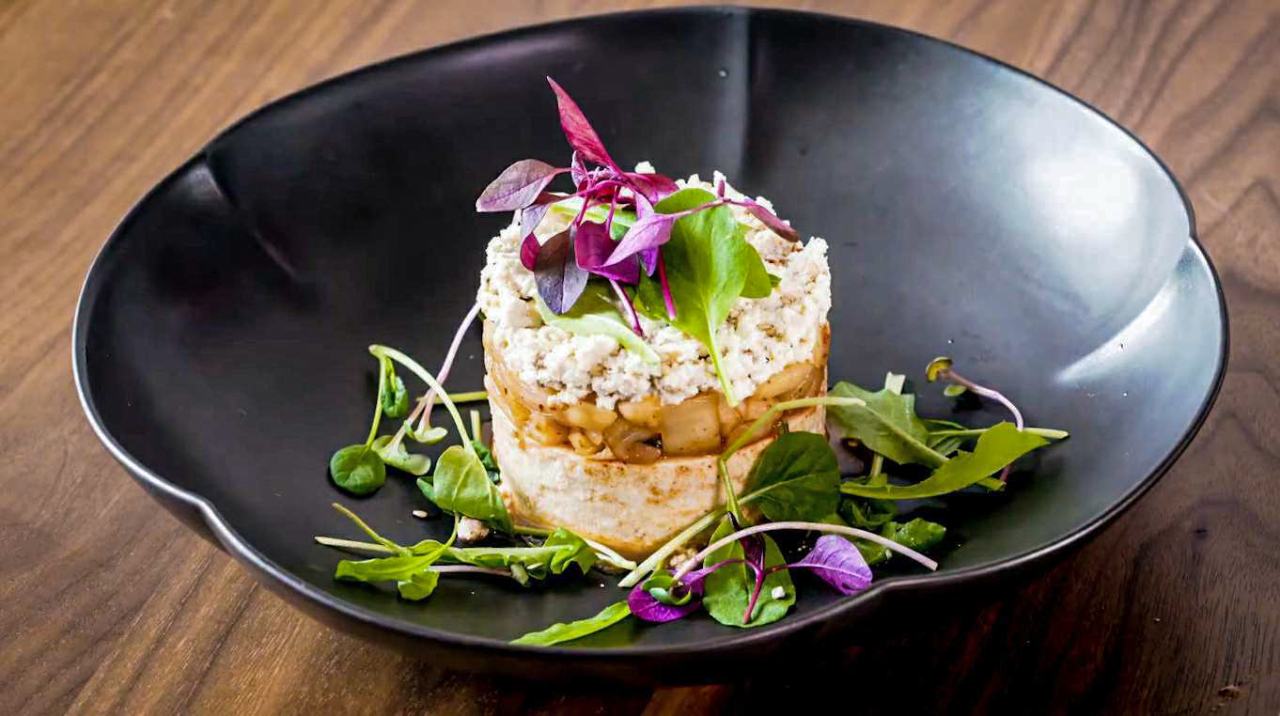 Kimchi tofu (Courtesy of Diana Kang)
