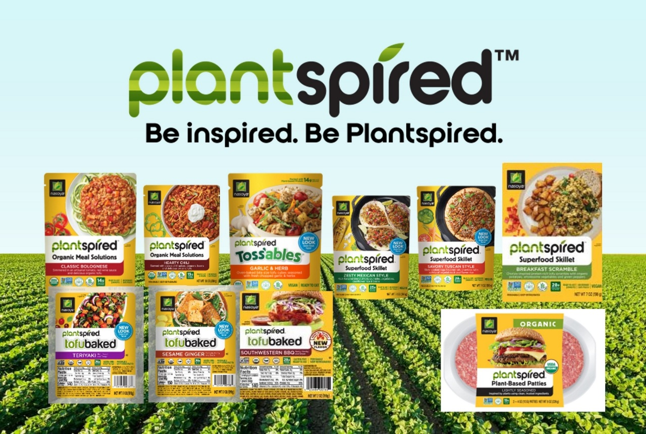 Products of Plantspired, a plant-forward food brand of Pulmuone Foods USA (Pulmuone)