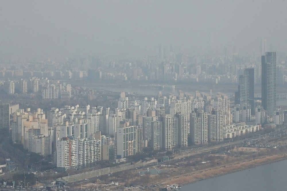 Apartment complexes in Korea (Yonhap)