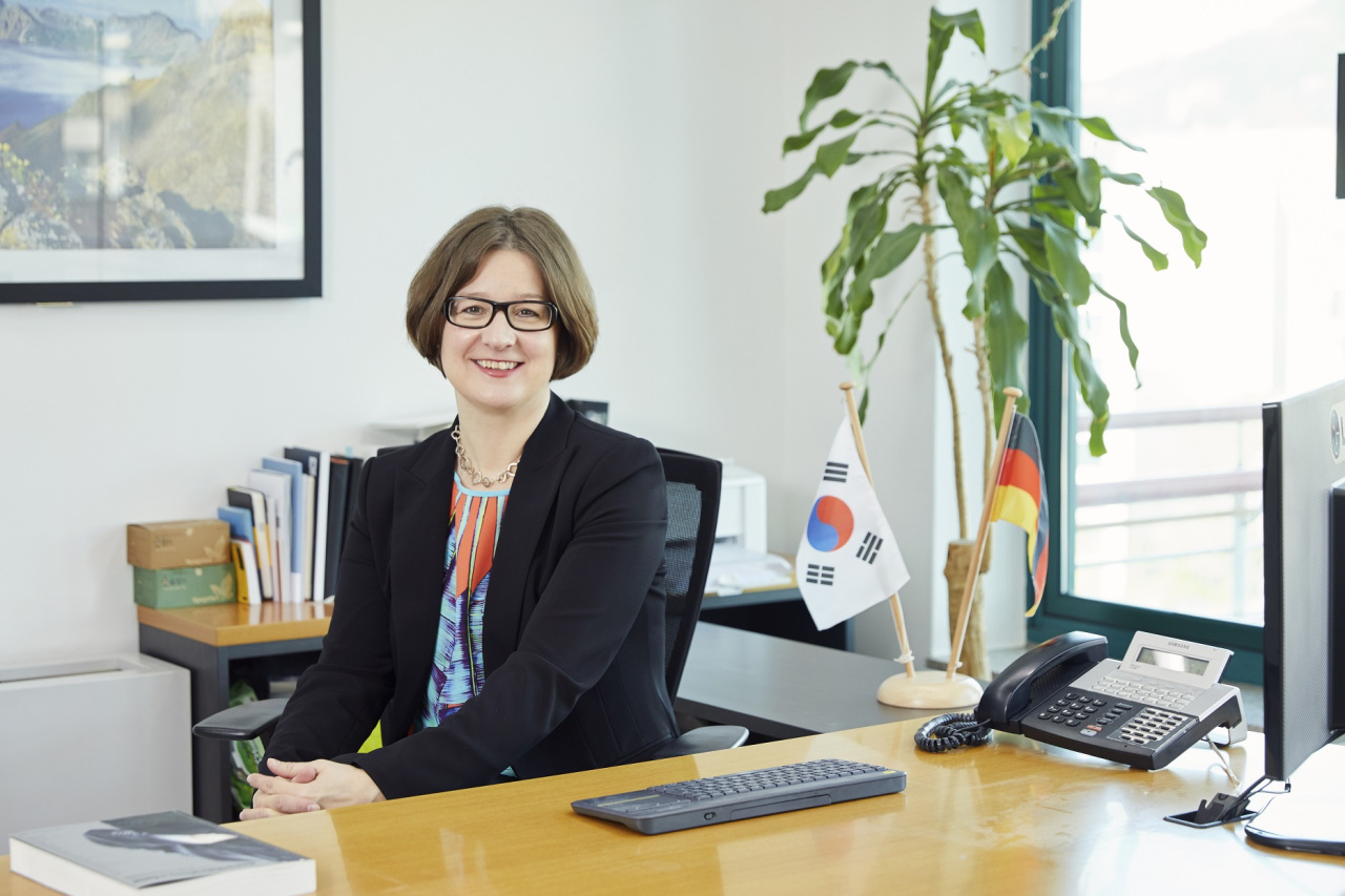 Barbara Zollmann, president and CEO of the Korean-German Chamber of Commerce and Industry. (KGCCI)