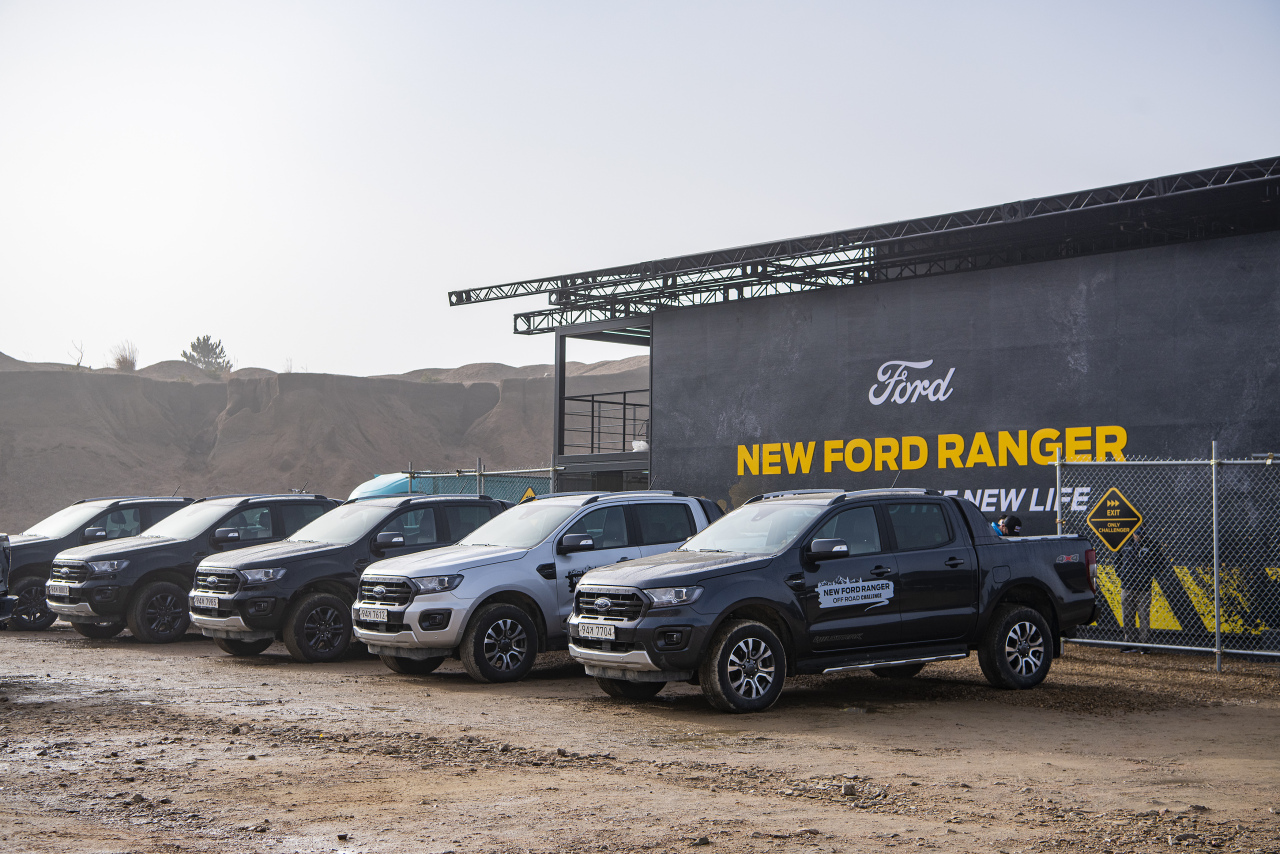 Ford Ranger Wildtrak (Jo He-rim/The Korea Herald)