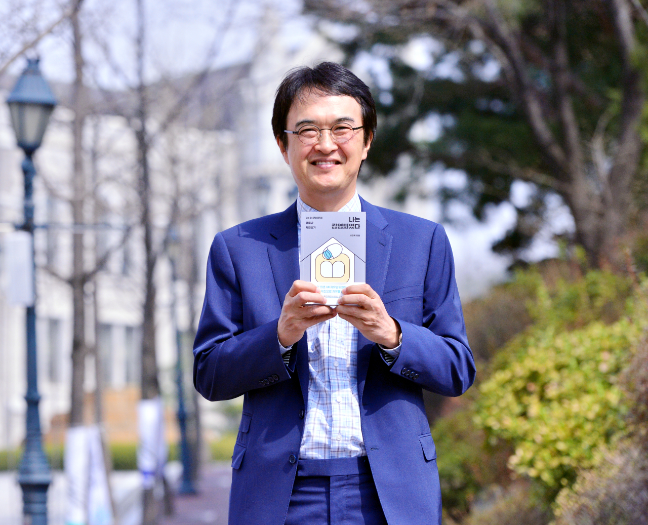 Soh Chang-rok, a Korea University professor and UN Human Rights Committee member, poses before an interview with The Korea Herald at Korea University on March 26. (Park Hyun-koo/The Korea Herald)