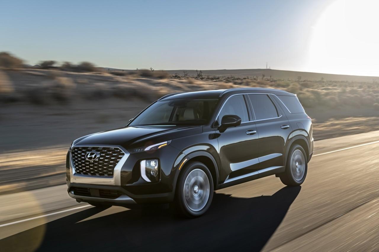 This file photo provided by Hyundai Motor shows the Palisade SUV. (Hyundai Motor)