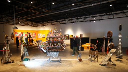 Installation view of the 13th Gwangju Biennale at the Gwangju Biennale Exhibition Hall (Yonhap)