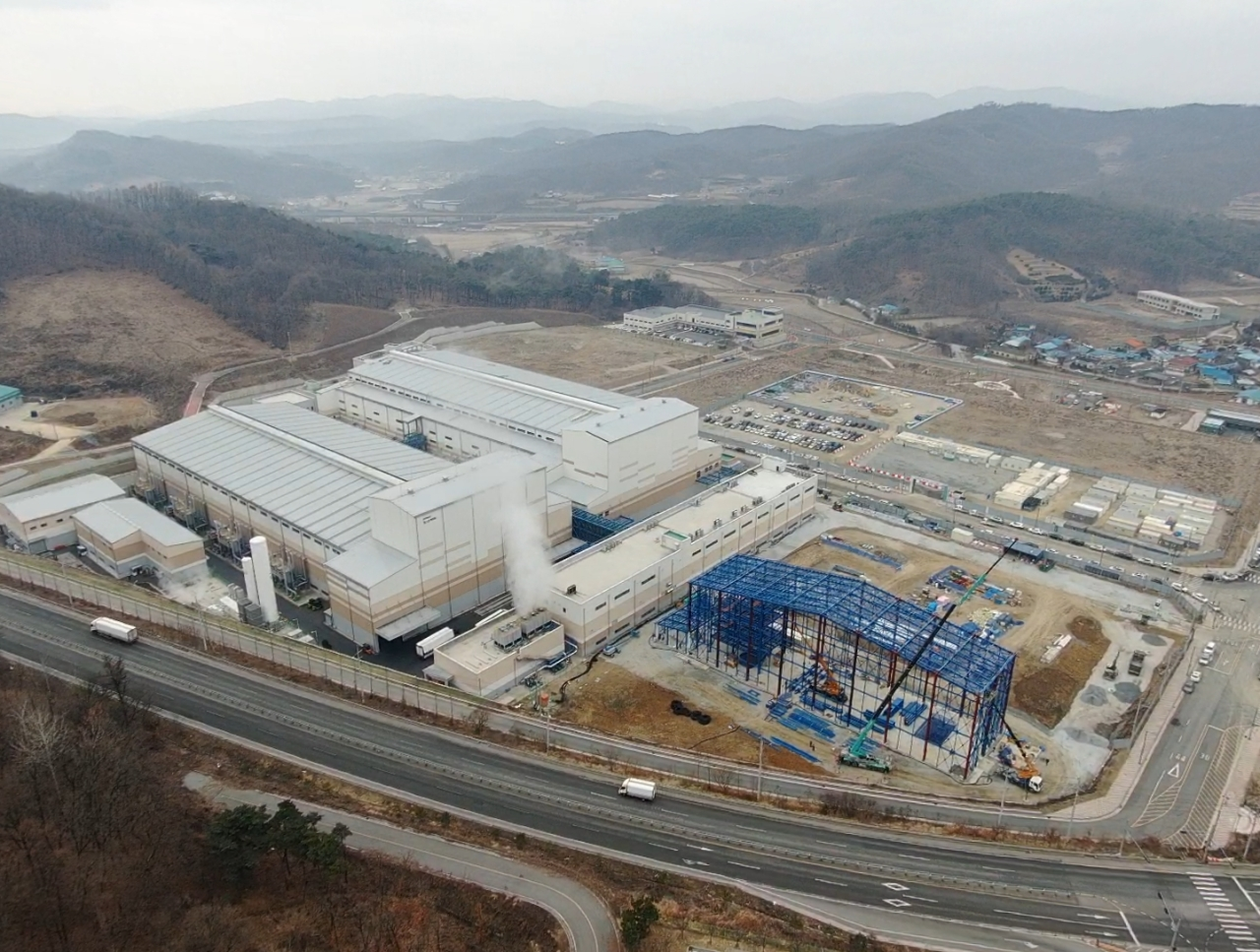 Posco Chemical's anode manufacturing plant in Sejong (Posco Chemical)