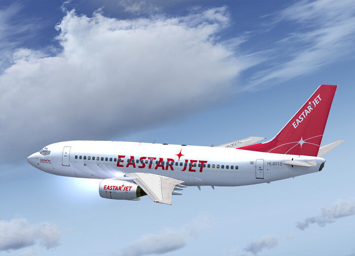 A promotional image of Eastar Jet's aircraft (Eastar Jet)