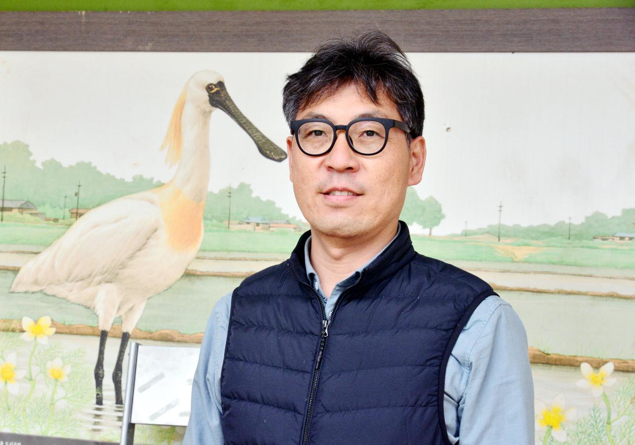 Kim Dong-eon, eco-city team leader at the Korean Federation for Environmental Movement (Park Hyun-koo/The Korea Herald)