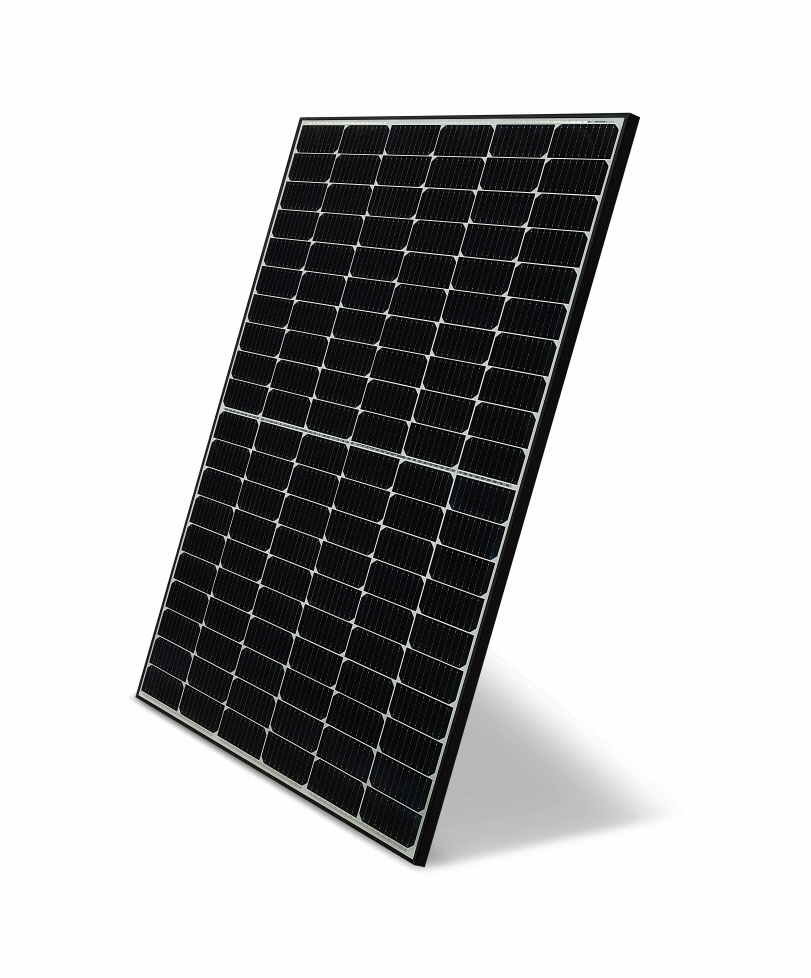 This photo provided by LG Electronics Inc. on Wednesday, shows the company's new solar panel module NeON H. (LG Electronics Inc.)