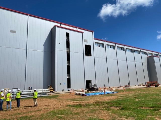 SK Innovation's battery plant under construction in Georgia (SK Innovation)